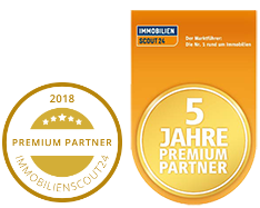 ImmobilienScout24 Premium Partner 6 Jahre in Folge